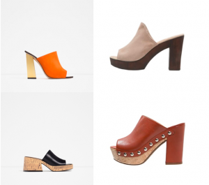 chaussures tendances 2016 mules