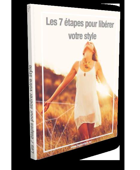 les 7 étapes pour libérer son style est un ebook de l'agence de relooking à Liège inyourstyle